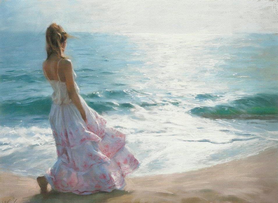 Vicente Romero Redondo   Art painting, Paint photography, Female art