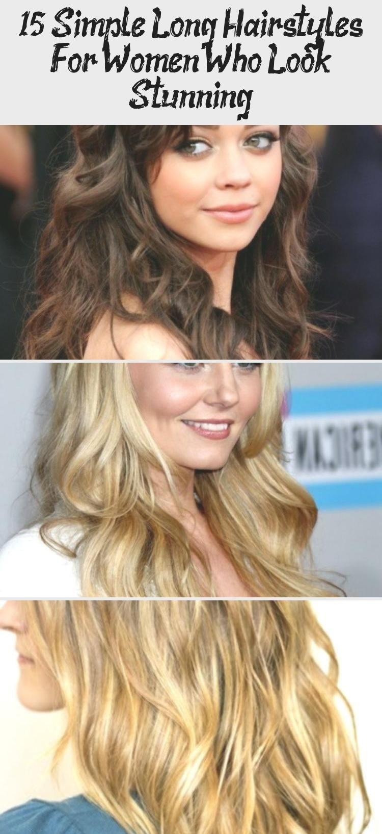 15 einfache lange Frisuren für Frauen, die atemberaubend aussehen – Sky's Blog