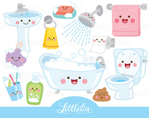 Bathroom Kawaii Clipart Bathroom Clipart 17049 Dibujos Kawaii