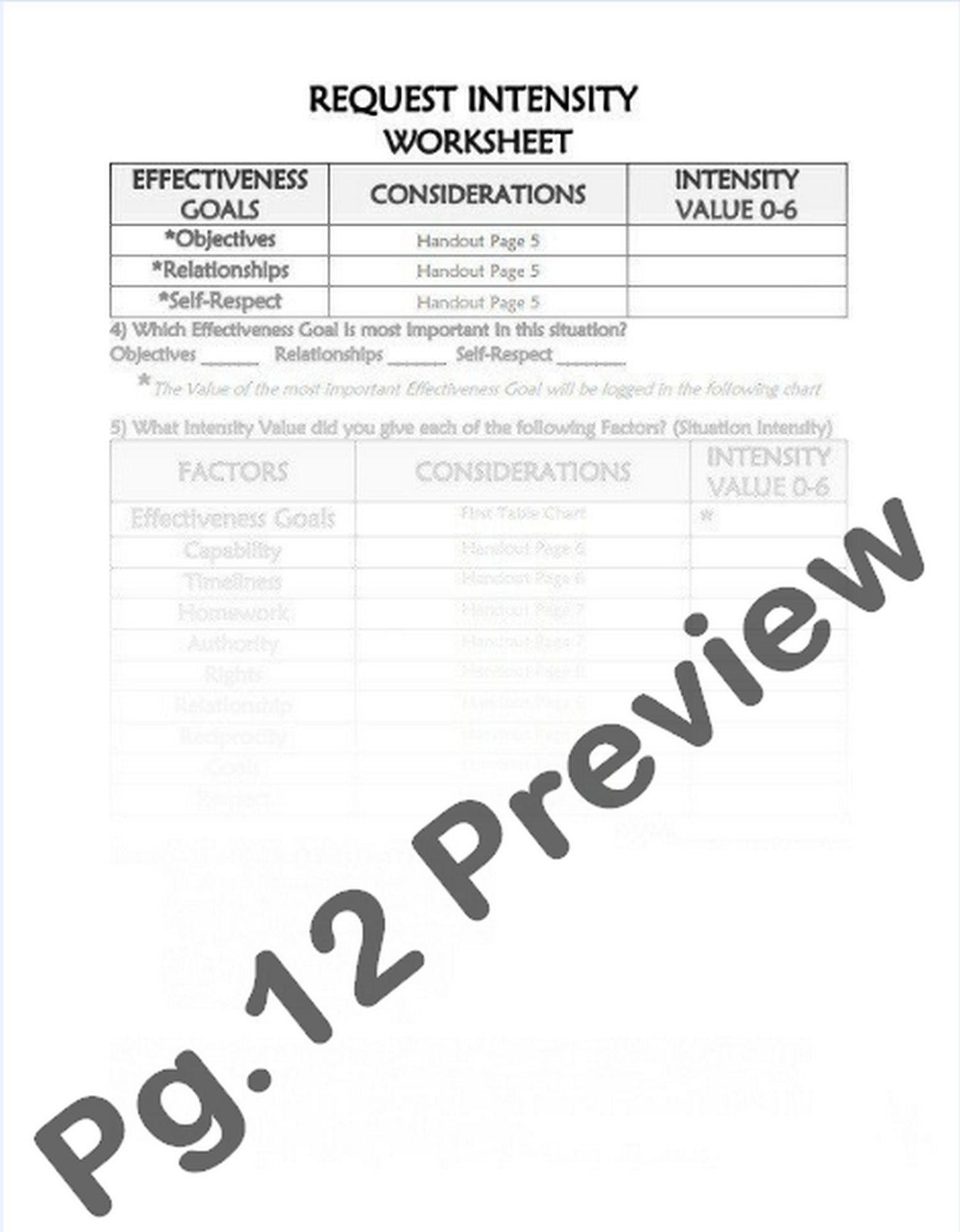 4 4 Modulating Intensity Request Intensity Worksheet