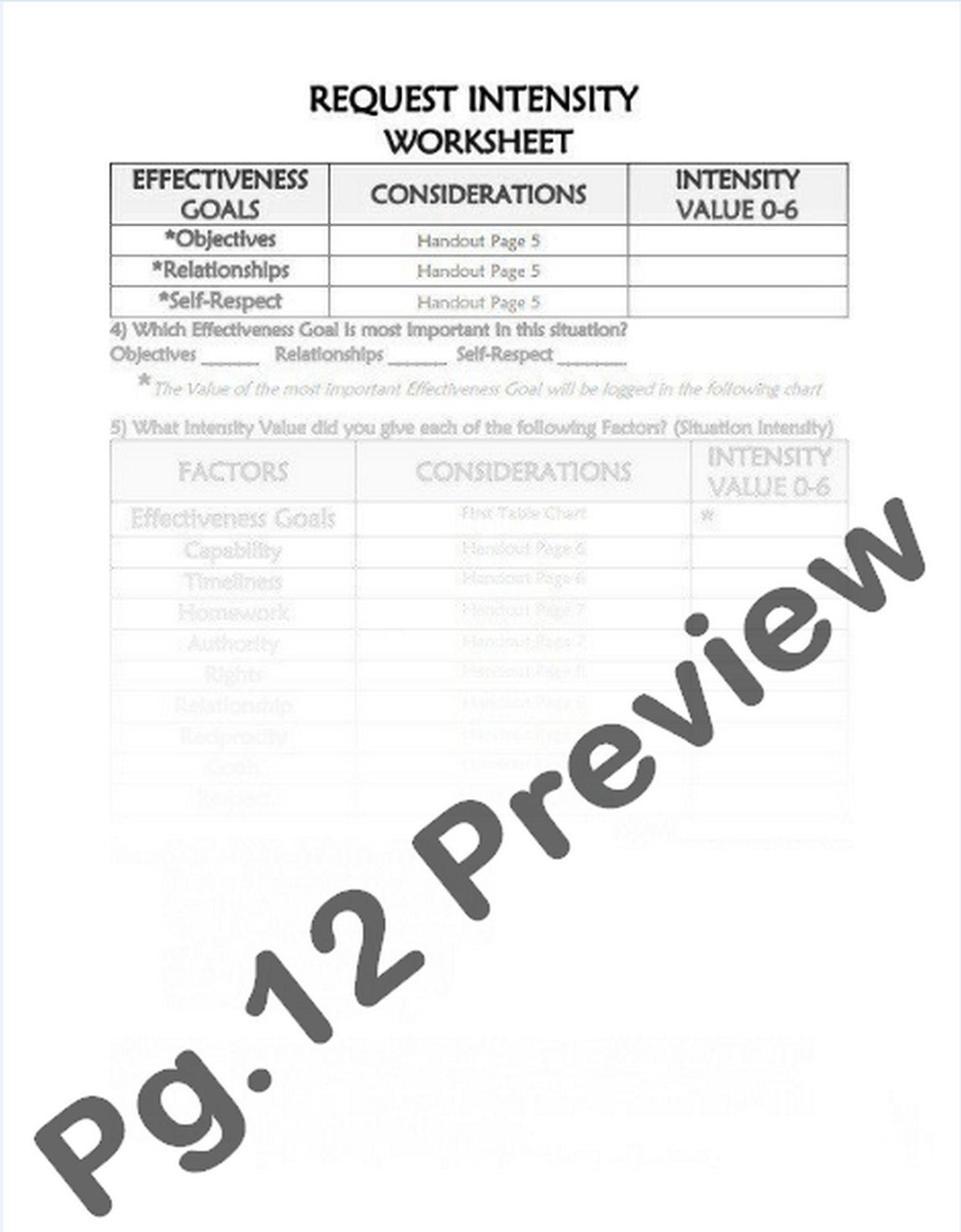 4 4 Modulating Intensity Request Intensity Worksheet