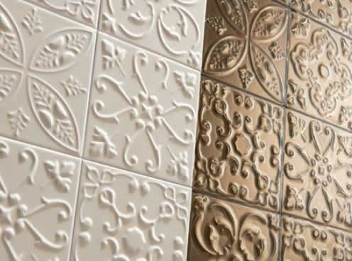 Decorative Porcelain Tile Glamorous Ceramic Porcelain Tile That Looks Like Decorative Tin  Sydney Design Decoration