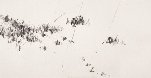 Yan Shanchun, Untitled, ink on paper