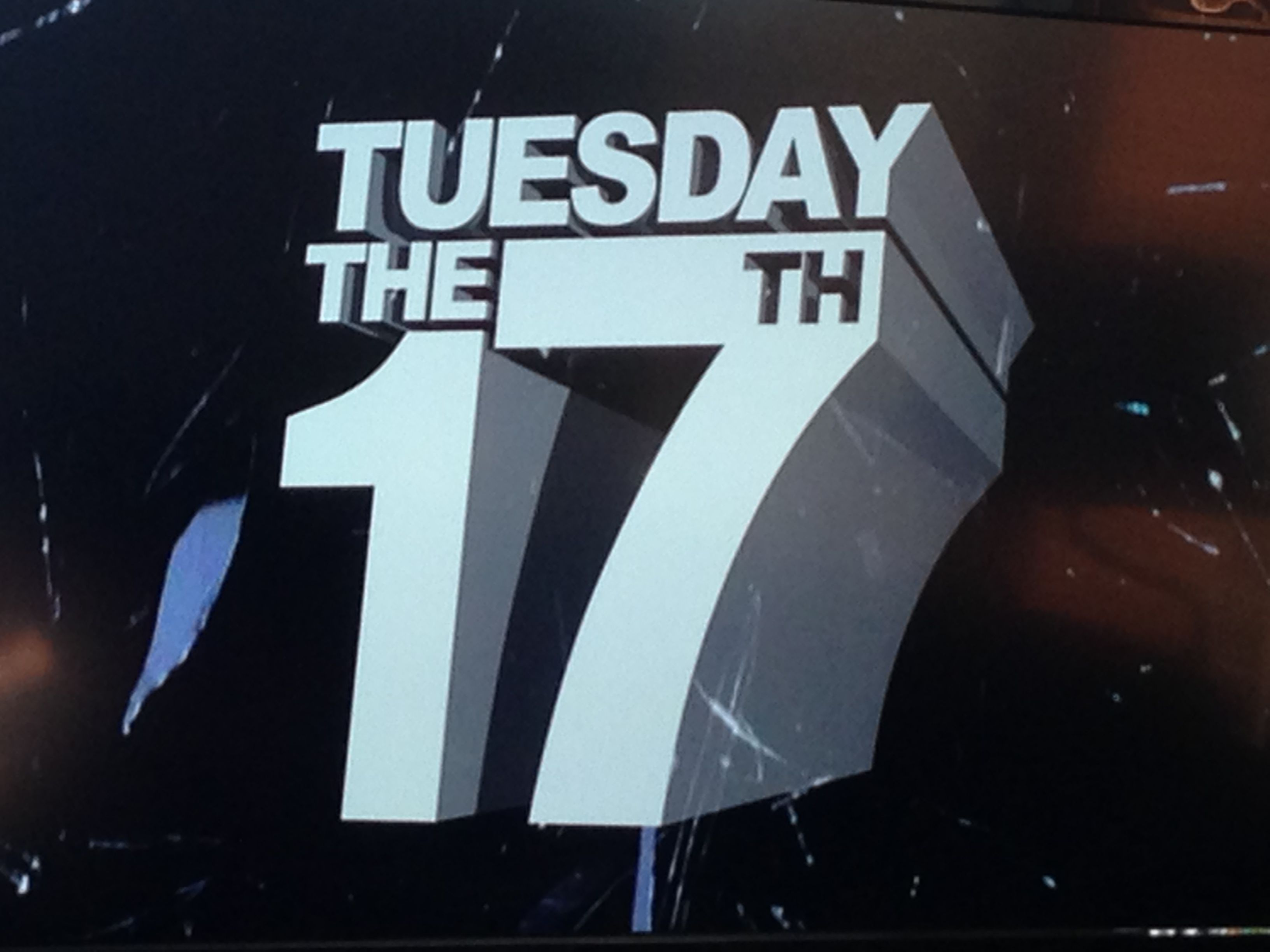 Tuesday the 17th Psychos!
