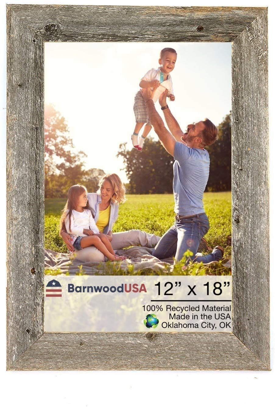 Display Your Memories In Our Barnwood Picture Frames And Add A Rustic Charm To Your Home Or O In 2020 With Images Barn Wood Decor Barn Wood Picture Frames Farmhouse Picture Frames