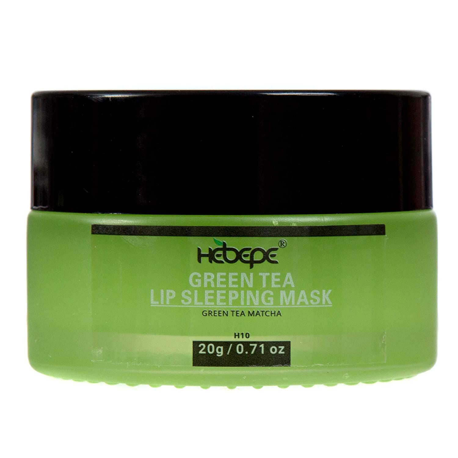 Photo of Hebepe Matcha Green Tea Lip Sleeping Mask Overnight, Dry Lips Treatment with Coconut Oil, Vitami…