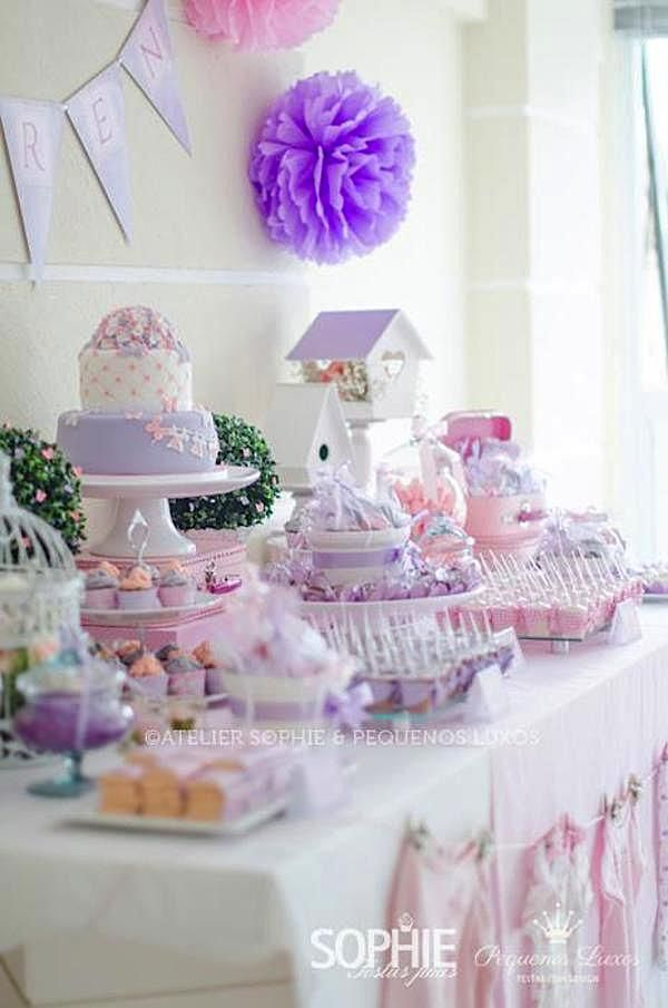 Baby Shower Decorations Girl This Gorgeous Pink Lilac