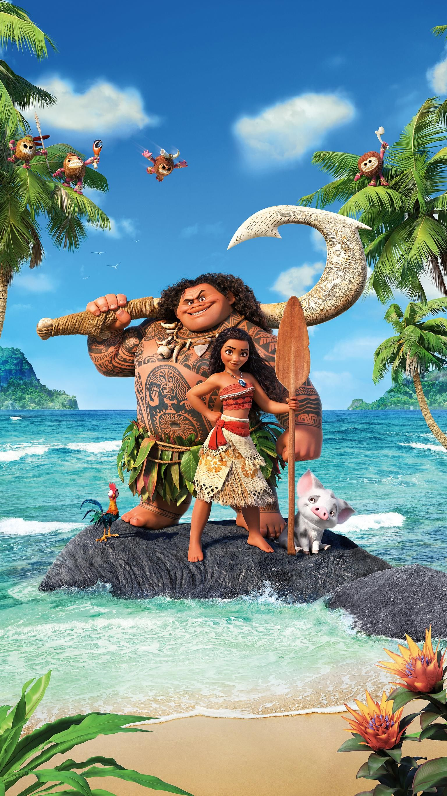 Moana (2016) Phone Wallpaper | Moviemania