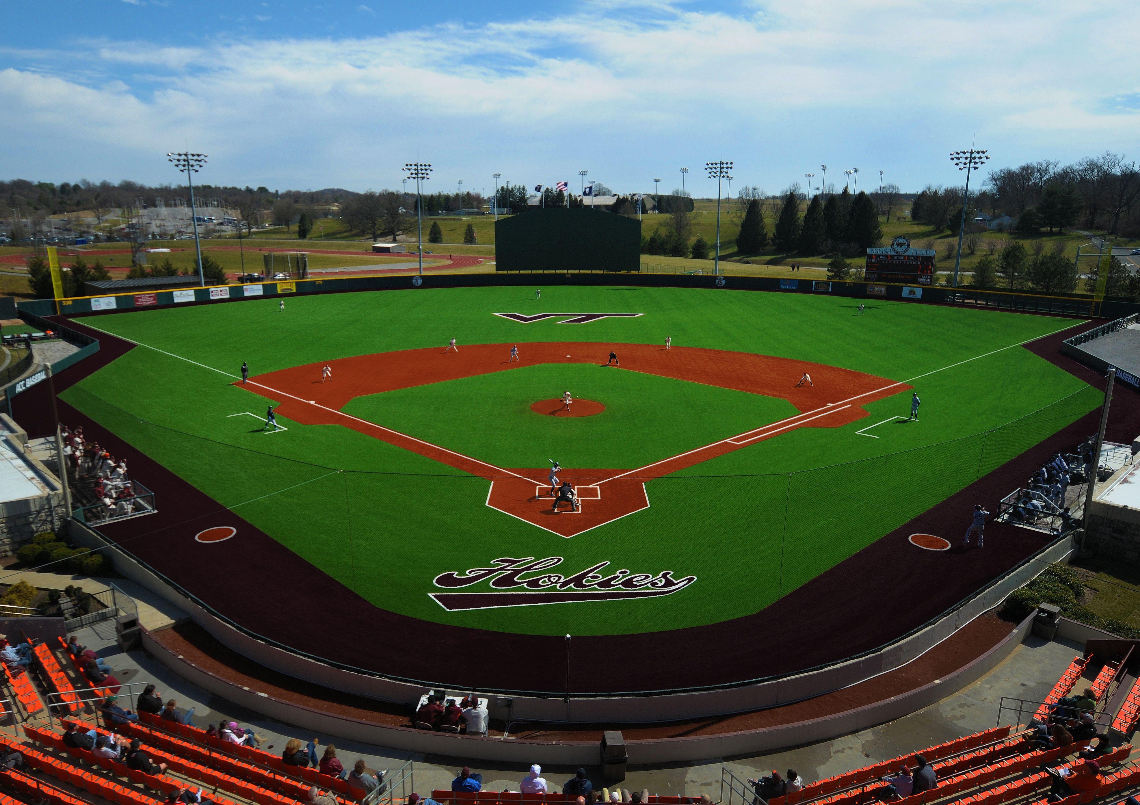 Virginia Tech English Field Astroturf Game Day Grass 3d 2012 Astro Turf Baseball Field Virginia Tech