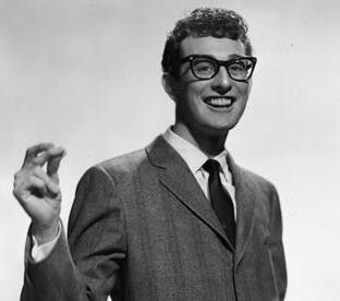 Buddy Holly. I love this picture! He dies way too soon. He will always be one of the best singers of all time to me.