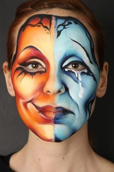 maquillaje face painting