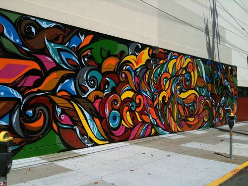 An Impressive Collection of 30 Mural Painting Art | Nice, Abstract ...