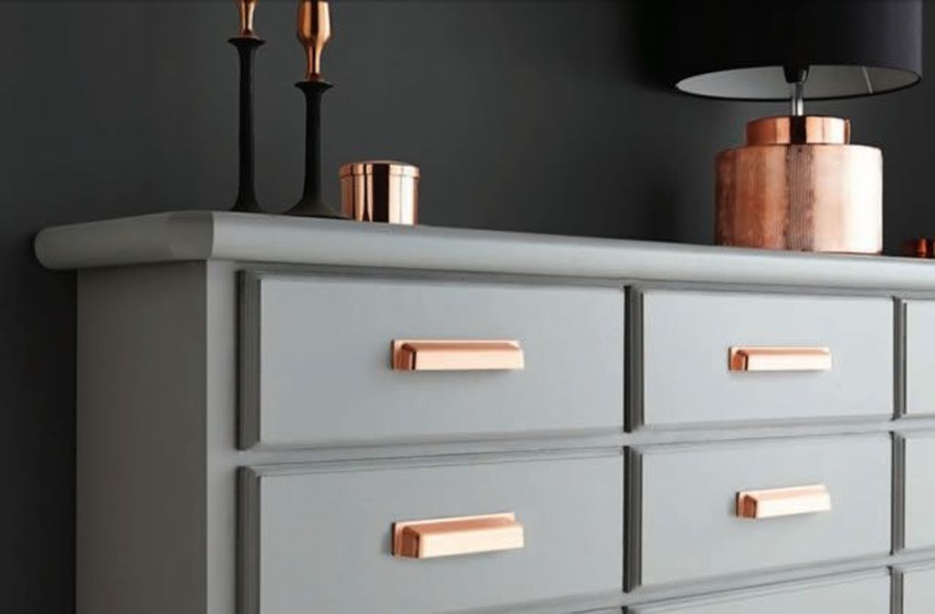 Cup Handles Kitchen Cabinets, Copper Coloured Kitchen Cabinet Handles