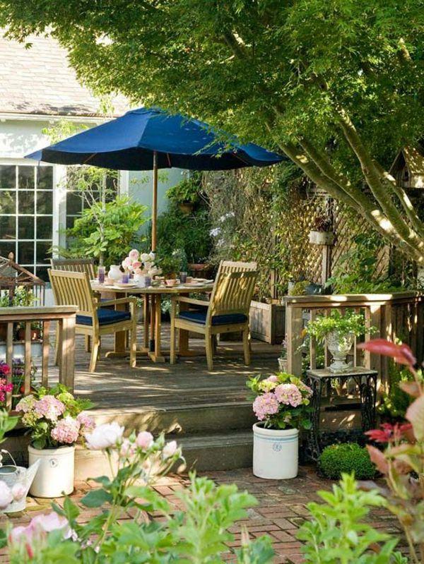 gartenideen kleine gärten die einrichtung   Garten   Pinterest ...