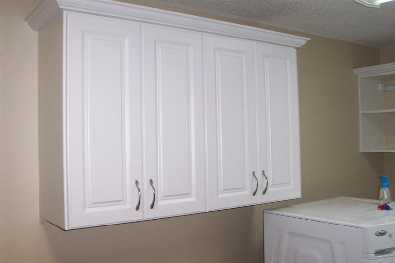 Laundry Room Wall Cabinets, White Wall Cabinets For Laundry Room