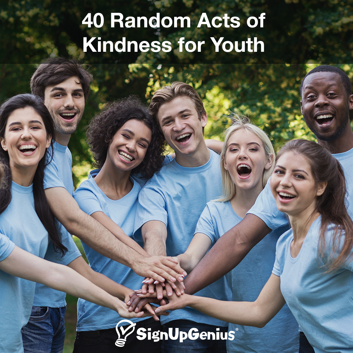 40 Random Acts Of Kindness For Youth