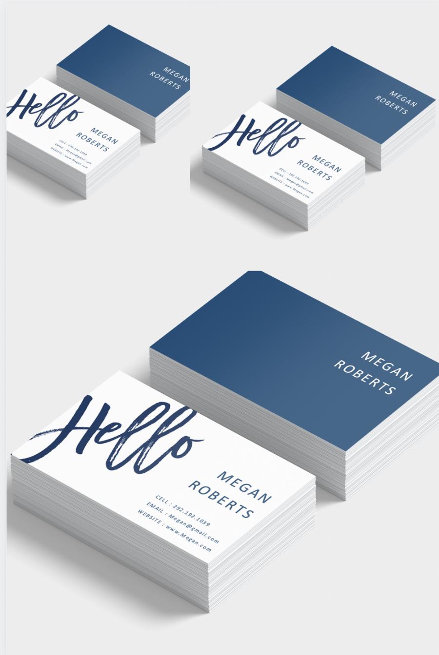 Editable Business Card Templates Diy Business Card Template Modern And Professional Business Cards Diy Templates Calling Card Design Business Card Template