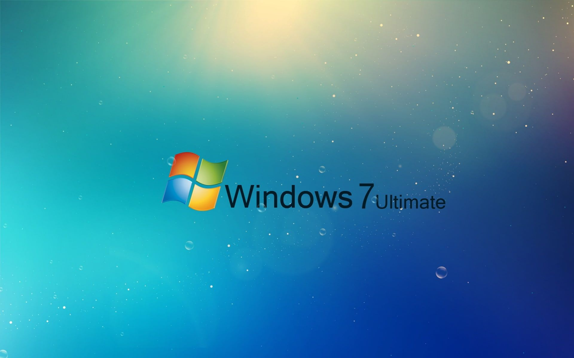 Windows 7 Ultimate Blue 1080p Wallpaper Hdwallpaper Desktop Download Wallpapers For Pc Wallpaper Pc Windows Wallpaper