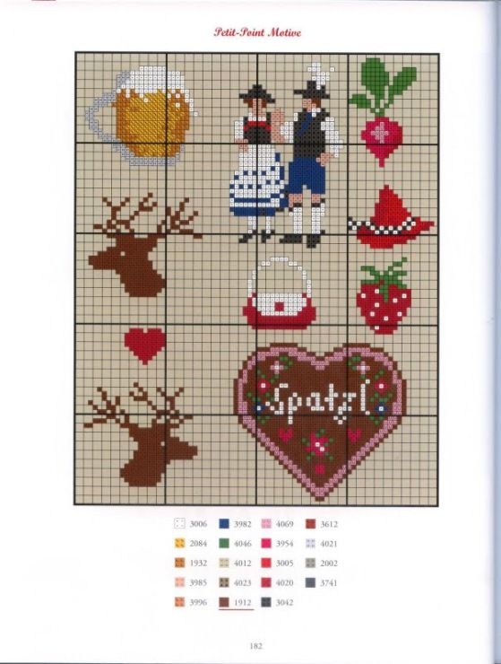 4 Single Paper Table Napkins for Decoupage I Mog Di Gingerbread Heart