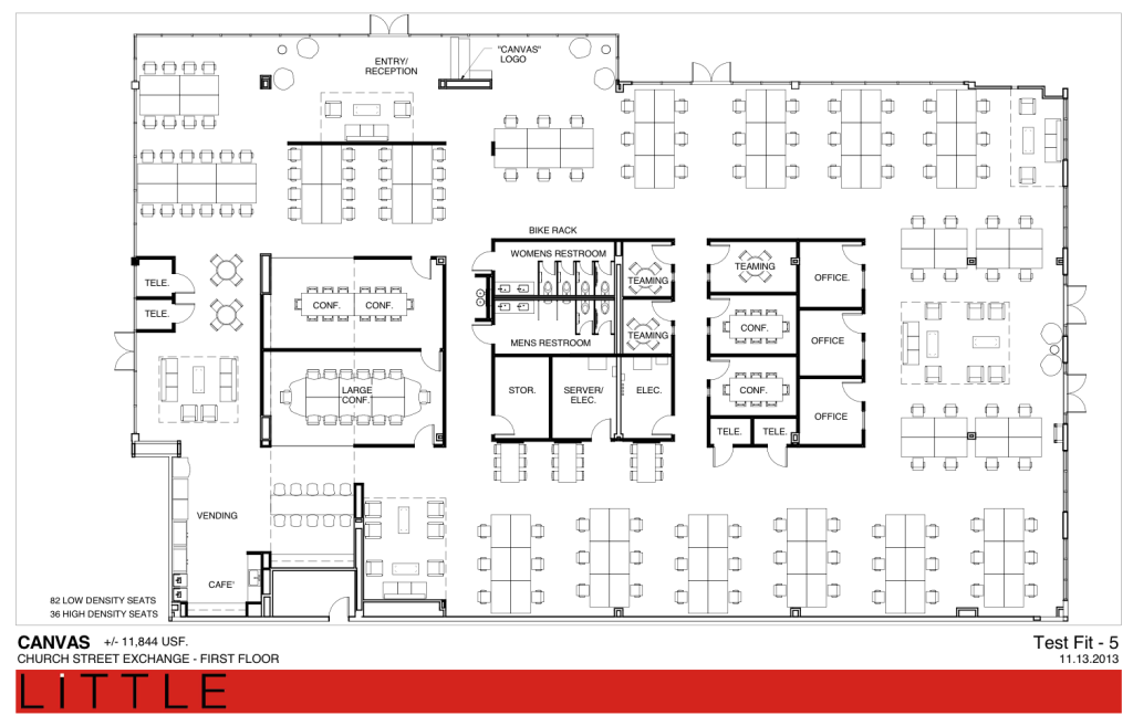 Creative Office Floor Plans: Wework South Lake Union - Google Search