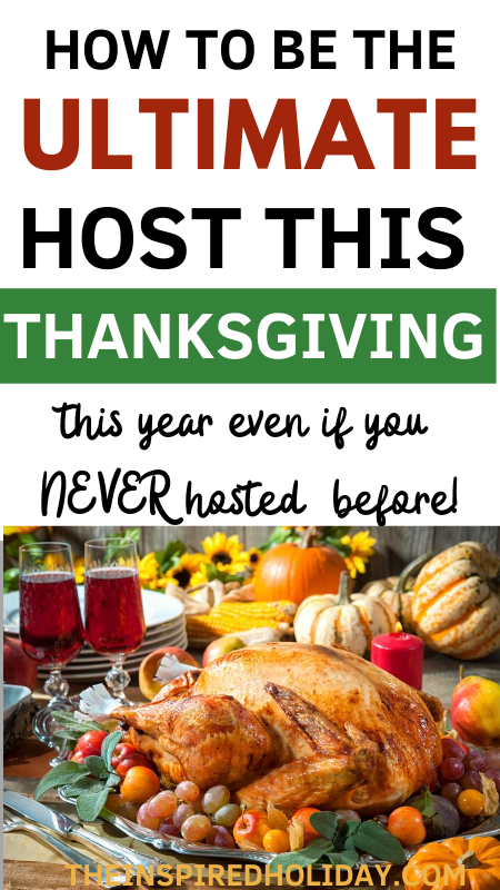 How To Be The Ultimate Thanksgiving Host {Even It's Your First Time}!