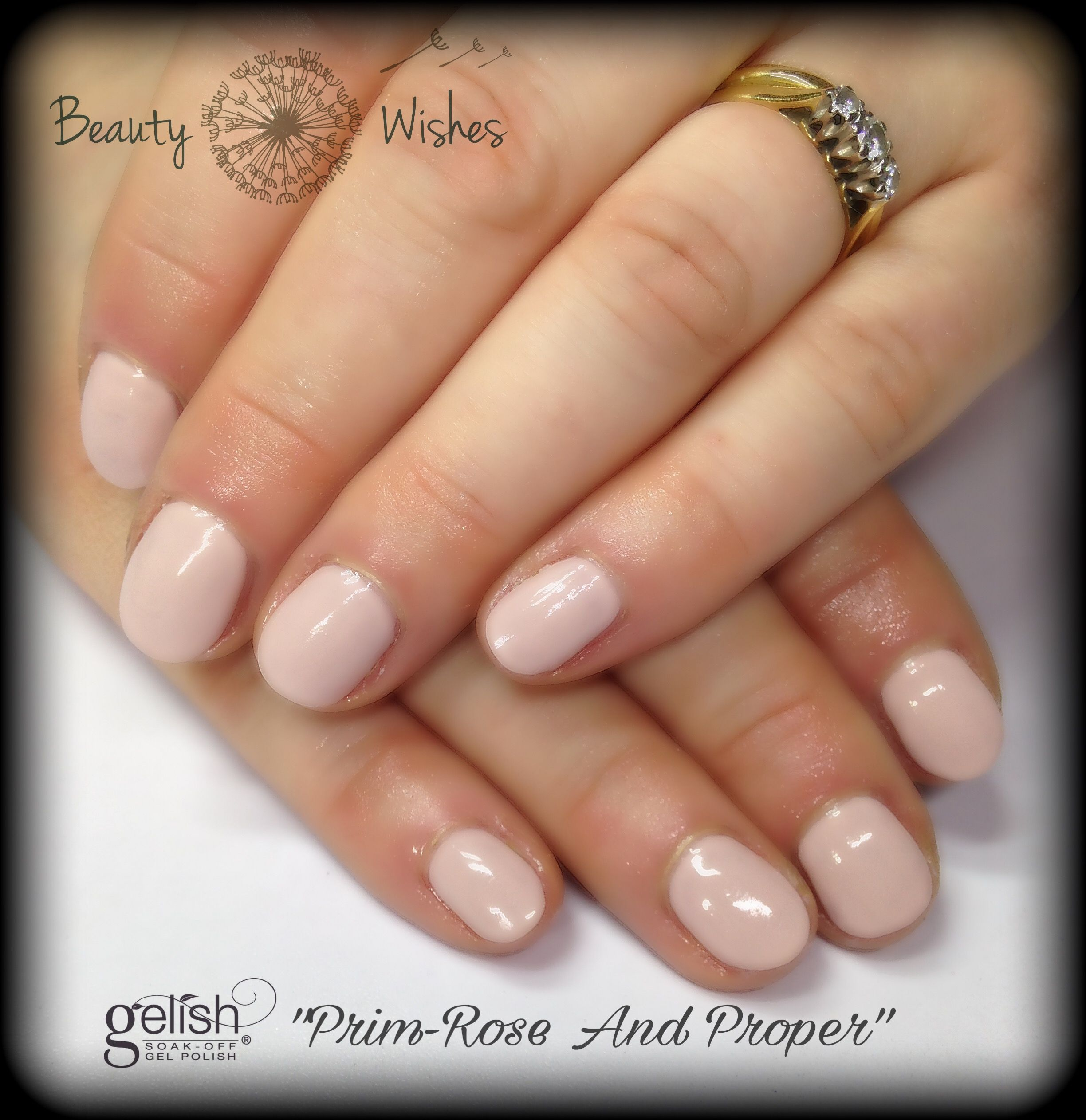 """Nail Colors Youtube: Gelish """"PrimRose And Proper"""" At Www.beautywishes.co.uk"""