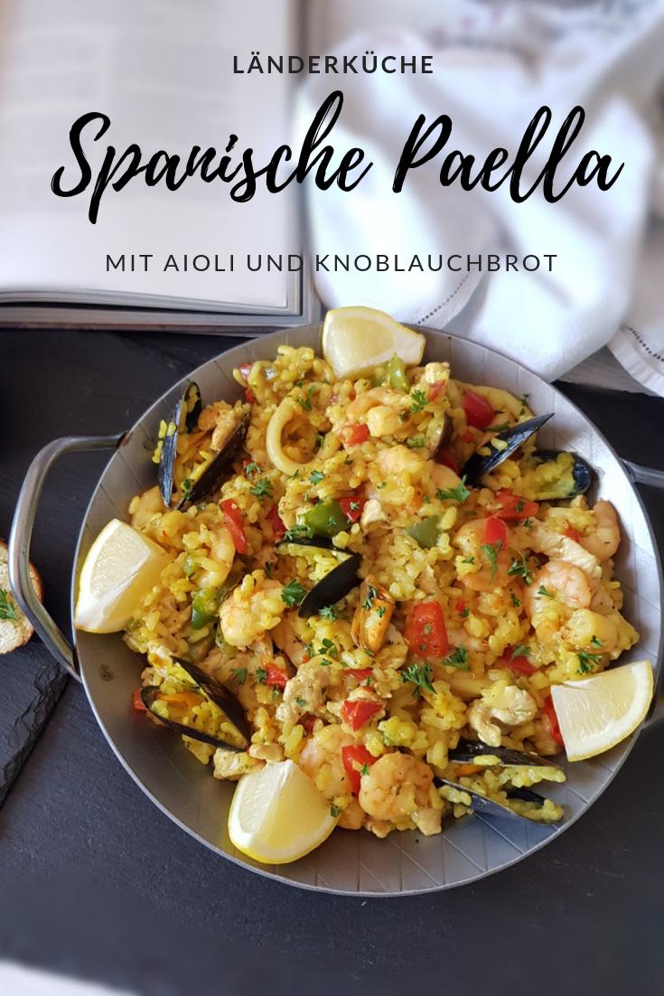 """""""Länderküche"""" rund um Spanien: Paella kochen, Aioli & Co. mit Thalia"""