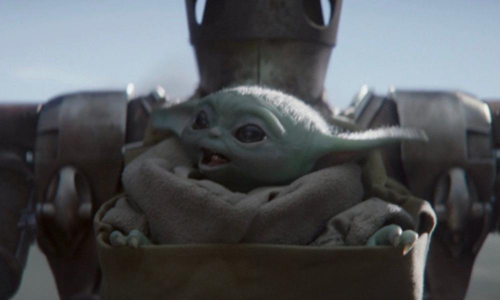 Baby Yoda Smiling Chapter 8 Star Wars Poster Mandalorian Star Wars Baby