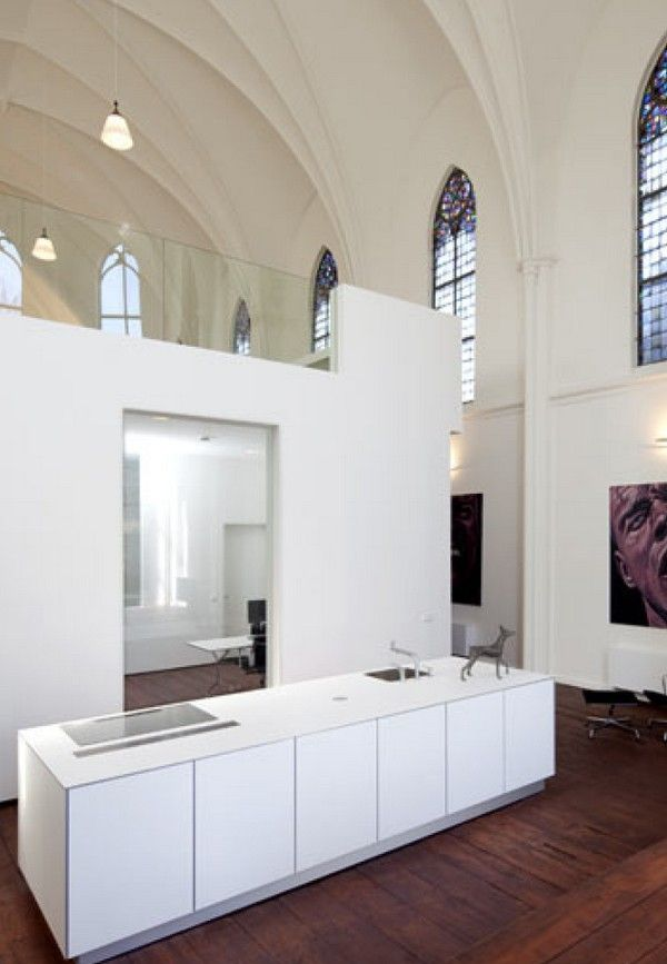 Holy Home: Stunning Looking Church for Sale in Utrecht | Afstuderen ...