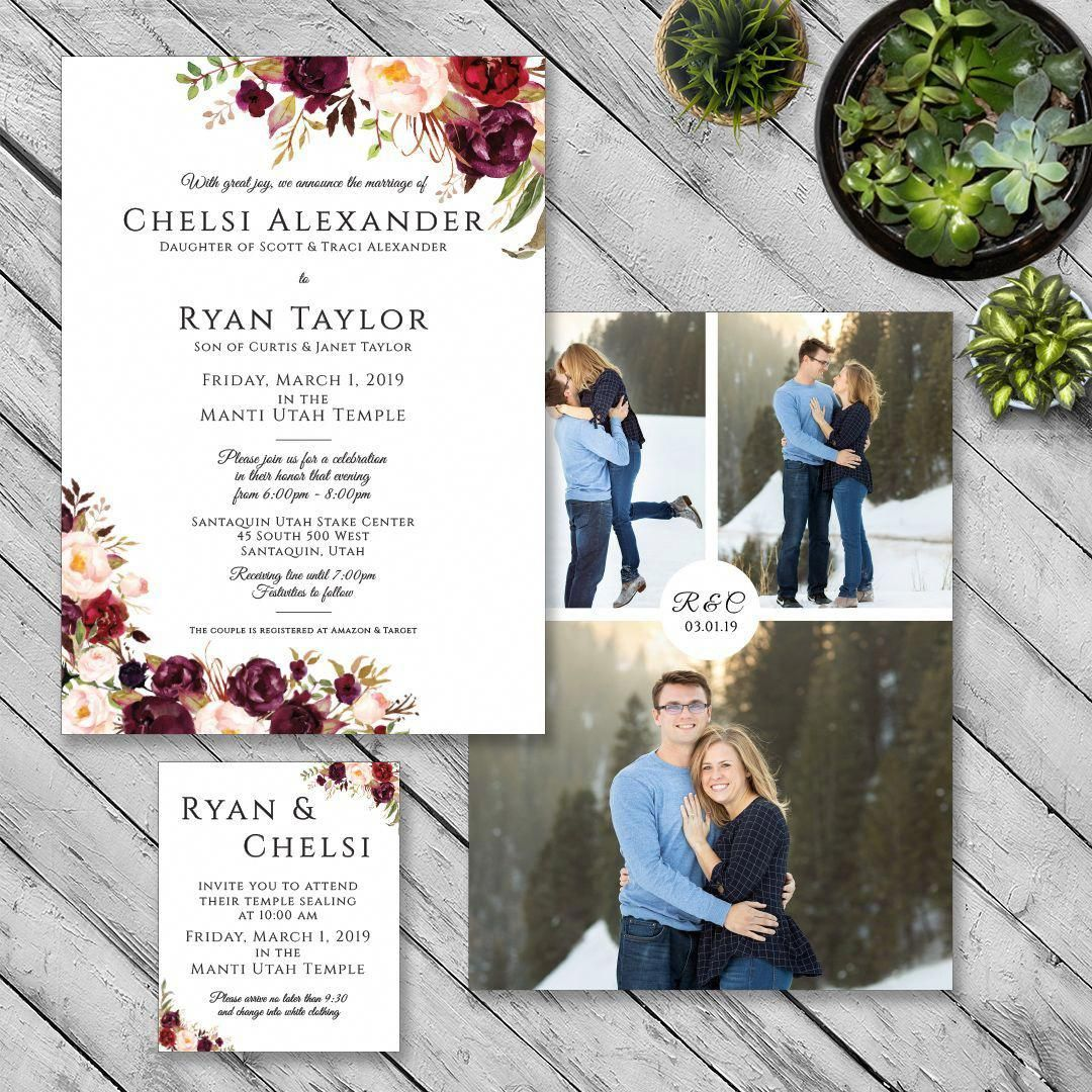 Congrats To Chelsi And Ryan Your Wedding Invitations Turned Out Beau Wedding Invitations With Pictures Beautiful Wedding Invitations Cheap Wedding Invitations