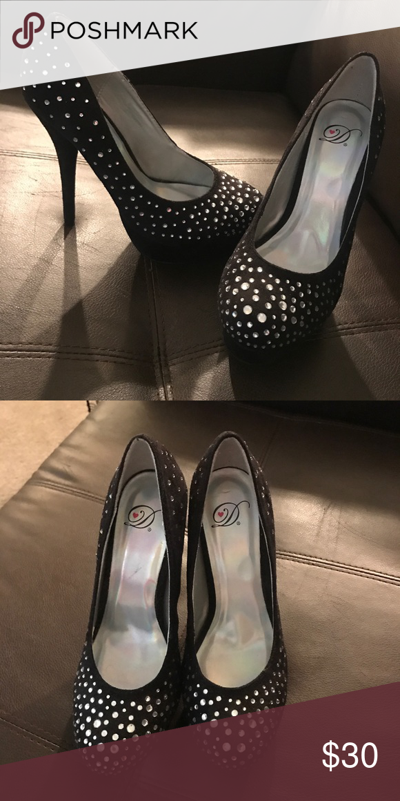 what to wear with rhinestone heels