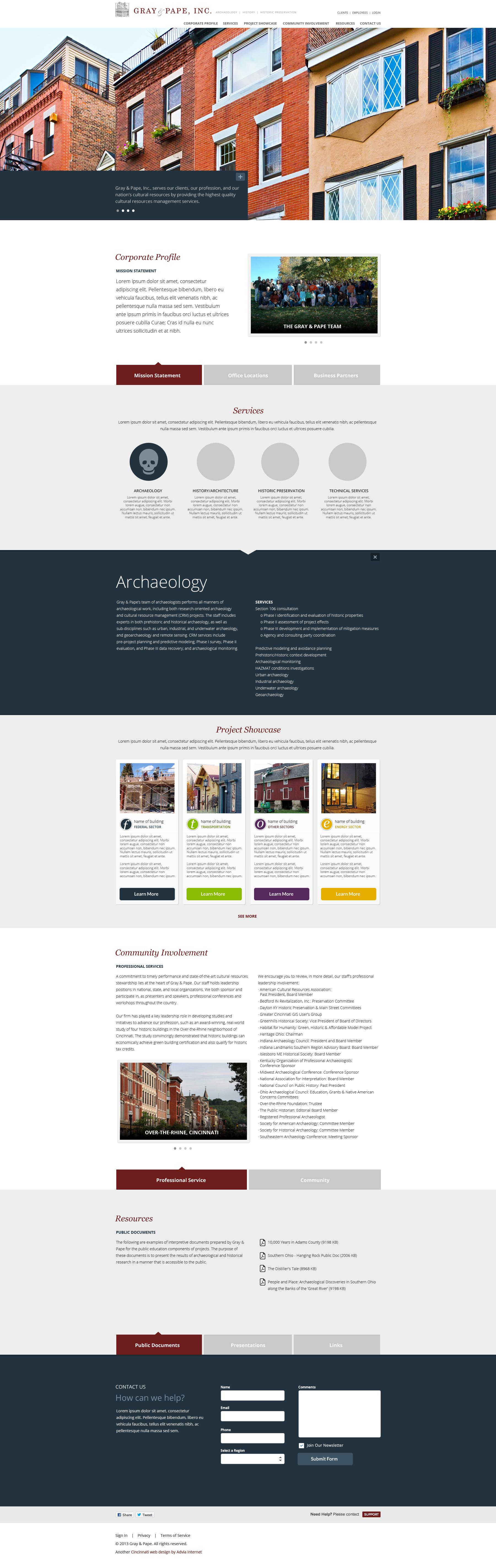 Cincinnati Ohio Web Design And Social Media Advia Internet Web Design Web Development Design Design