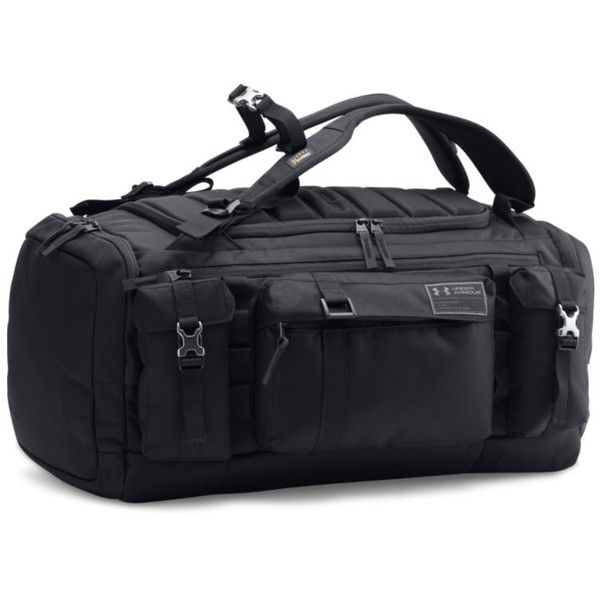 4f334f2ad77 Under Armour Men s UA CORDURA Range Duffle ( 150) ❤ liked on Polyvore  featuring men s fashion, men s bags, men s backpacks, black, mens backpacks  and mens ...