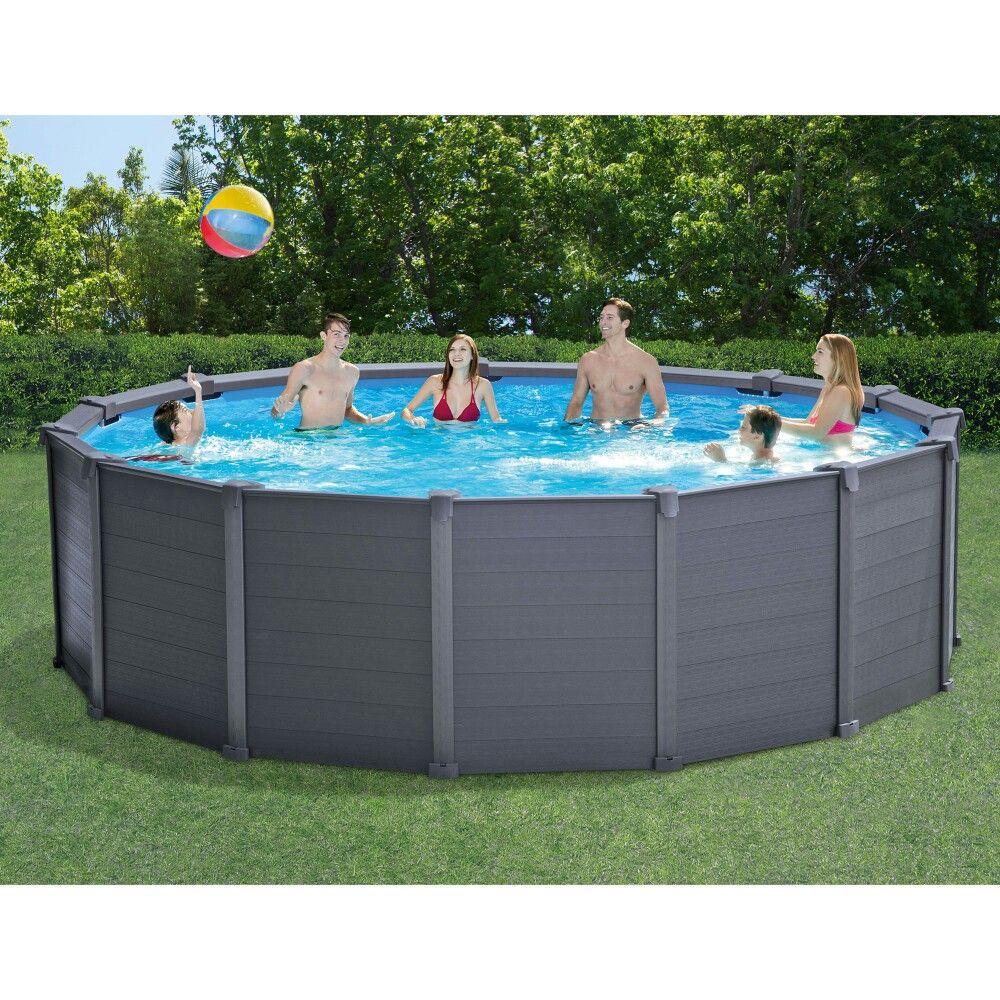 Pin By Leslie Lobato On Backyard Heaven Pool Intex Above