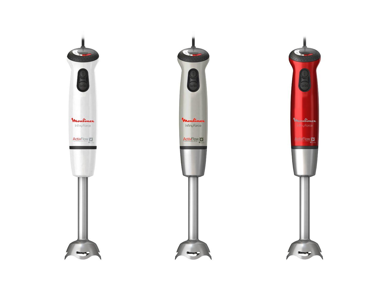 New Russell Hobbs 22241 Detachable Plastic Leg 2 Speeds Hand Blender White