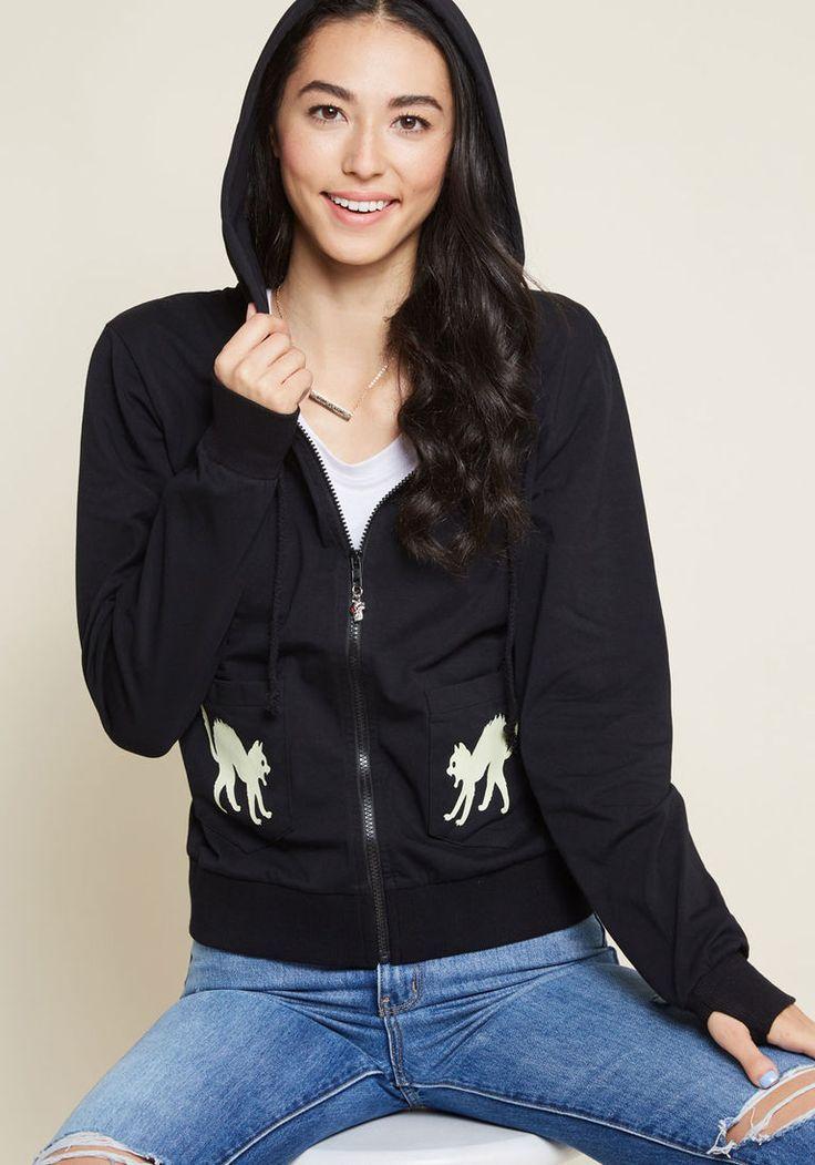 The Black Cat Animal Custom Design Graphic Hoodie Sweatshirt for Men Women