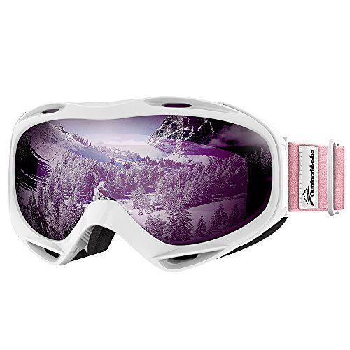 Bekleidung Premium Skibrille Snowboardbrille Schneebrille OTG 100% UV-Schutz Ski Goggles Skisport & Snowboarding