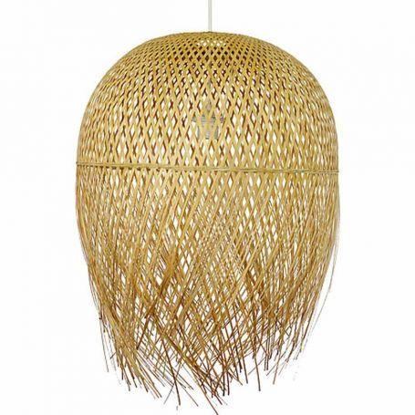 Suspension bambou NEST merce équitable Lumineux