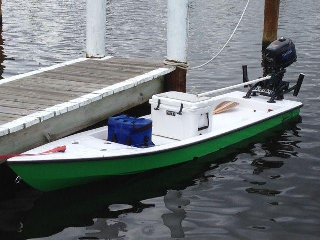 MICROSKIFF   Small Boat, Paddle Board   Aluminum boat, Kayak fishing, Boat projects