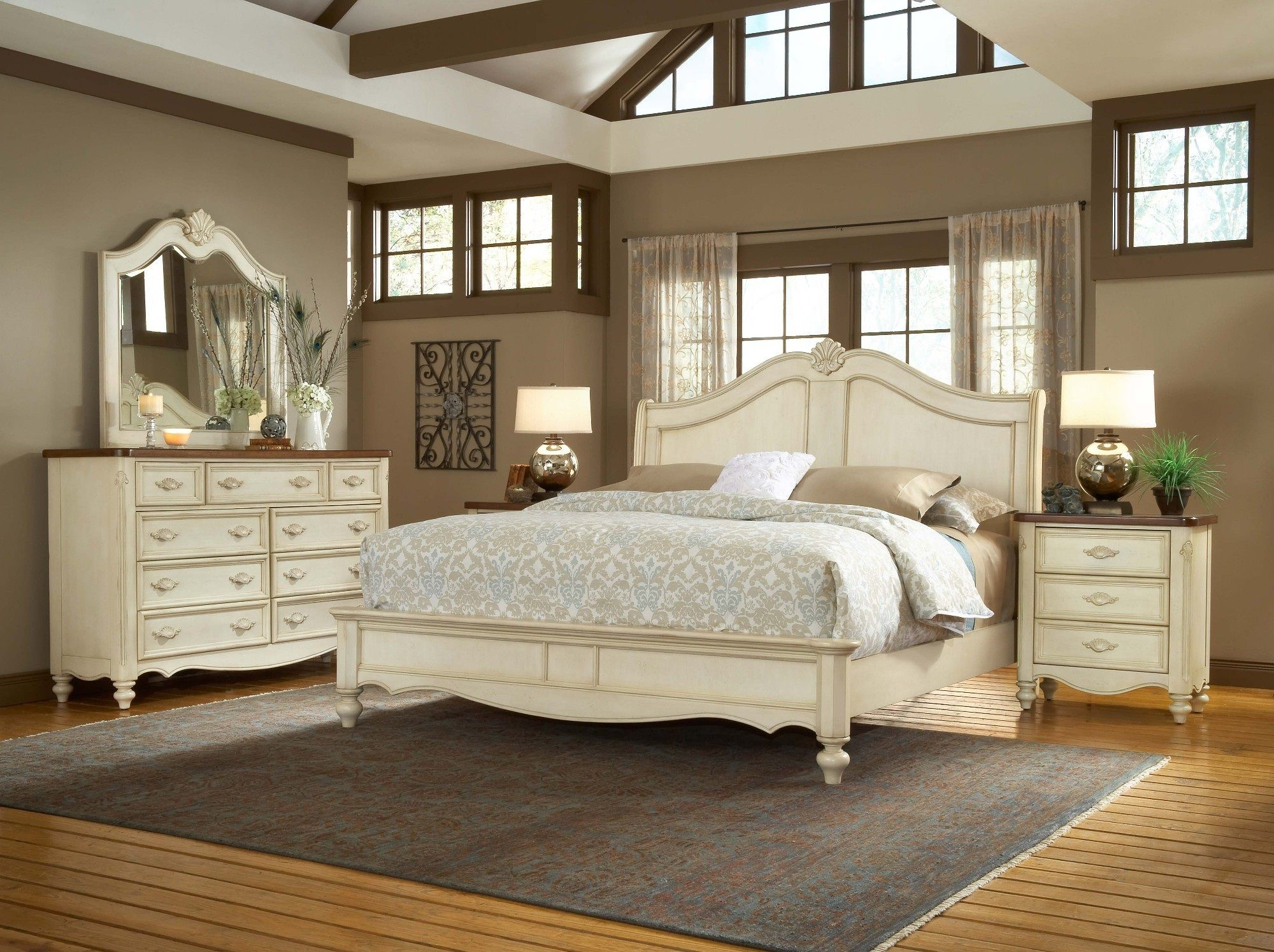 Enchanting ikea bedroom sets future home antique - White vintage bedroom furniture sets ...