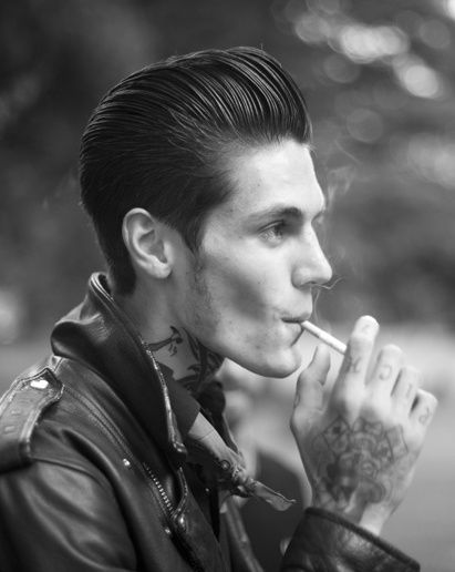 Style Inspiration Slicked Back Hairstyle Style Fashion Hipster Hairstyles Hipster Hairstyles Men Rockabilly Hair