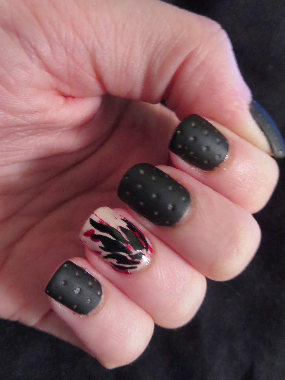 Bizarre Obsessions Divergent Nails Series Dauntless Nails