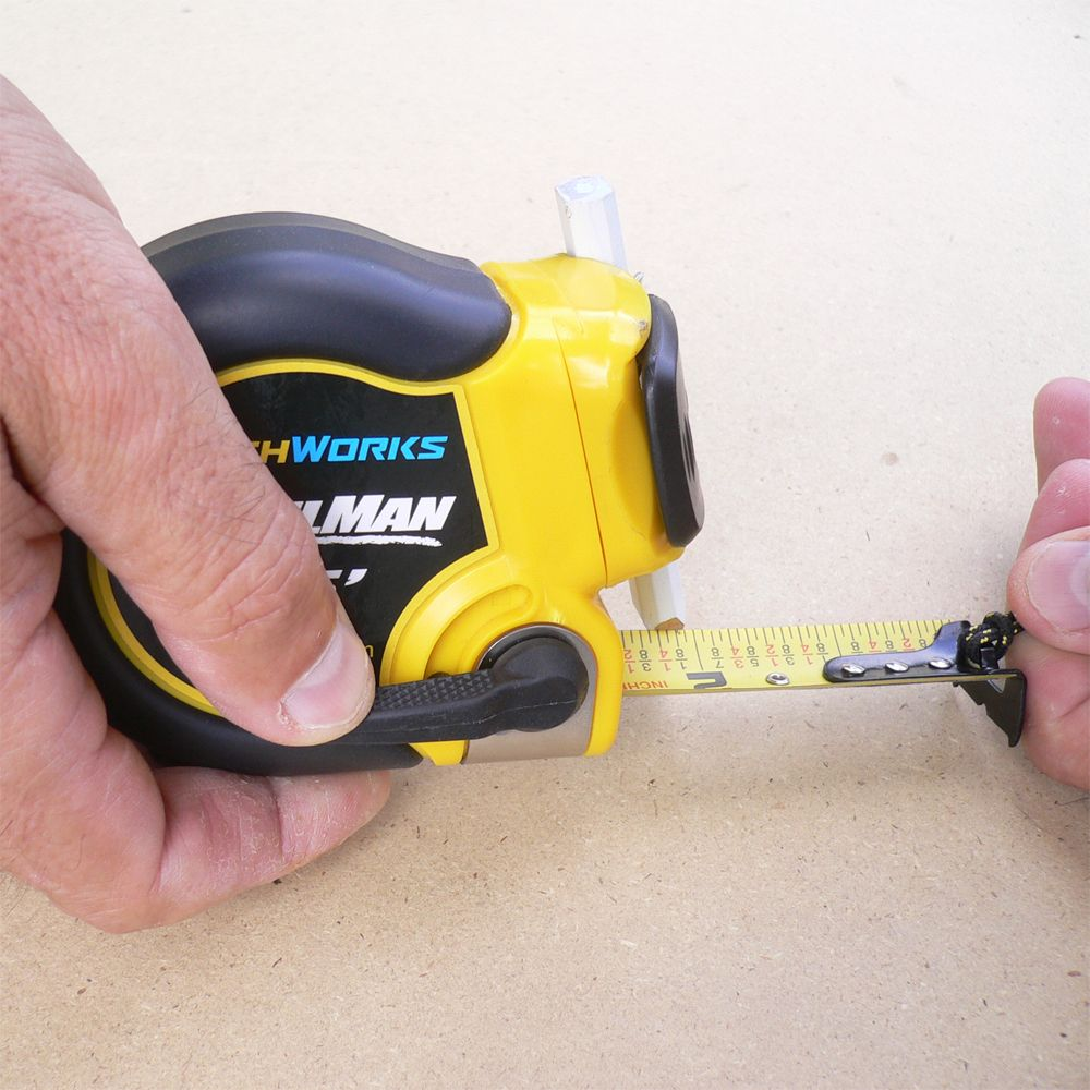 Pencilman Tape Measure The Ultra Strong Tape Brake Has A Lever On The Side Of The Case This Keeps Your Measurement Secure Ev Strong Tape Tape Measure Tape