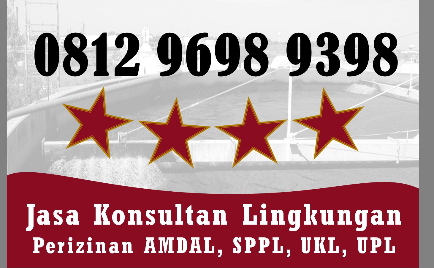 Pin Di Konsultan Amdal Indonesia