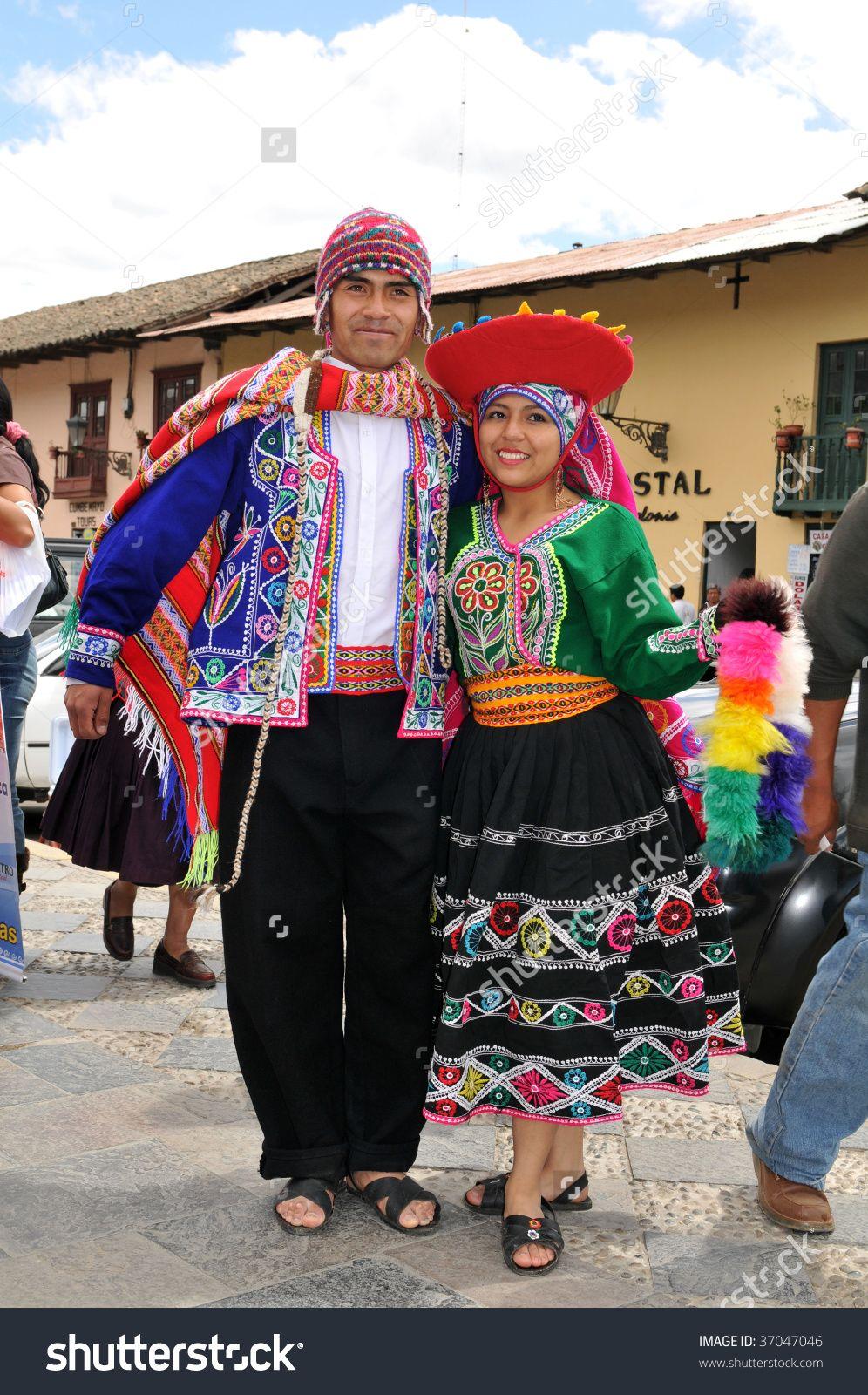 CUSCO PERU - SEPTEMBER 5: Peruvian dancers in traditional clothing from  Cuzco, Peru on September 5,…   Peruvian clothing, Traditional peruvian dress,  Peruvian dress