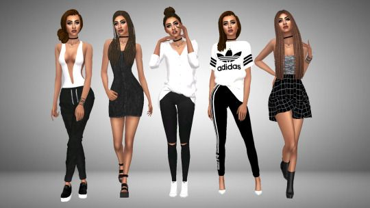 Sims 4 Look Books And Cc Finds Sims 4 Pinterest Sims