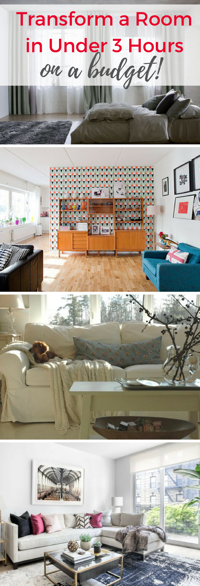You can transform your room with simple