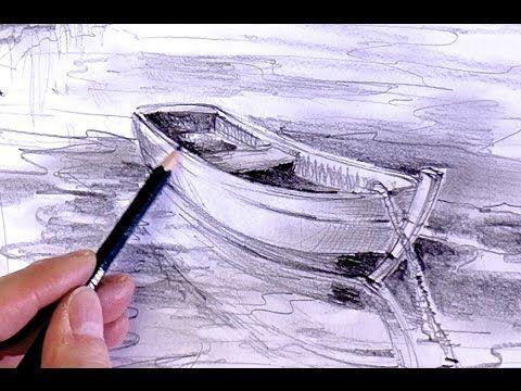 ganz einfach zeichnen lernen 17 landschaft teil 2 youtube zuk nftige projekte pinterest. Black Bedroom Furniture Sets. Home Design Ideas