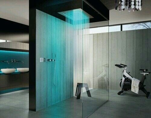 I gonna have one of this raining shower...