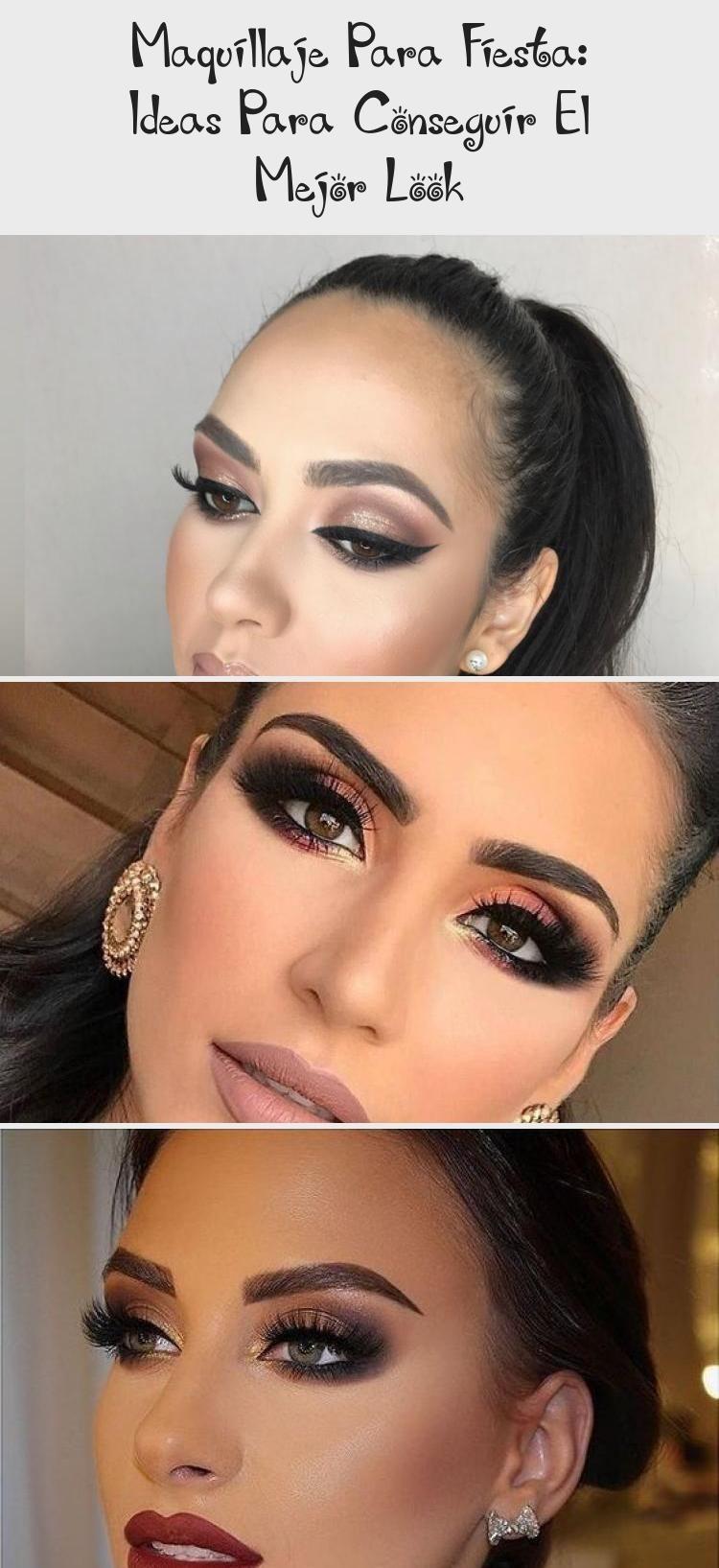 14 Maquillaje profesional de noche